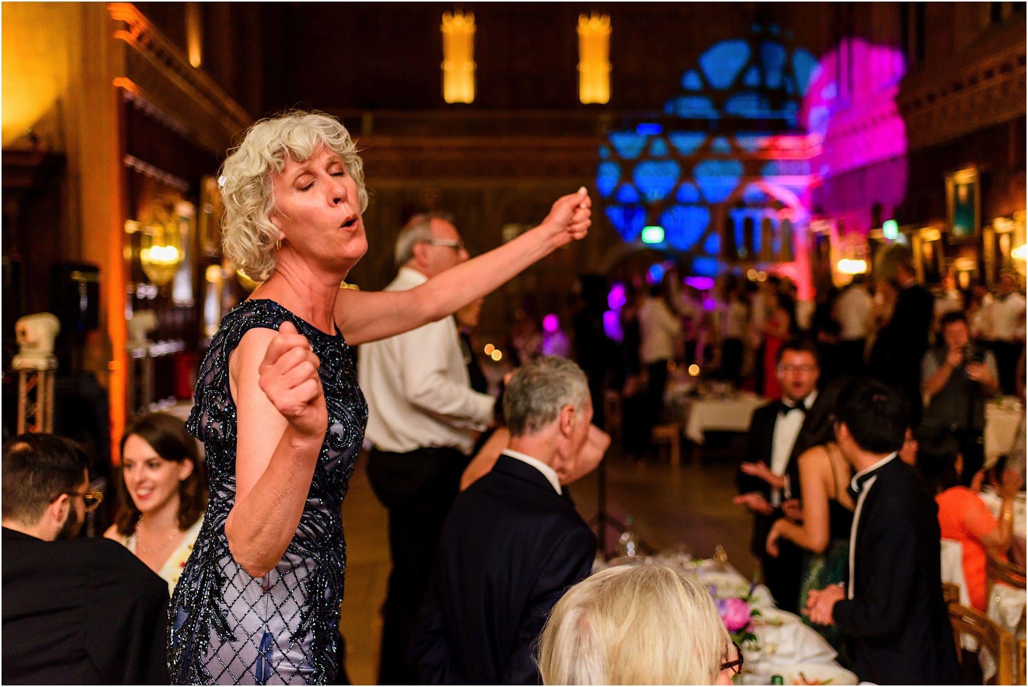 happy dancing lady