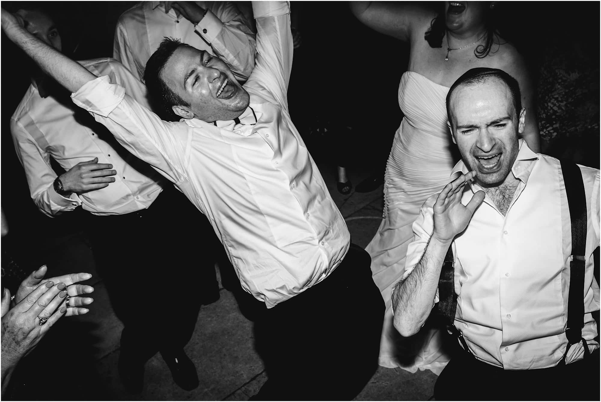 brothers dancing