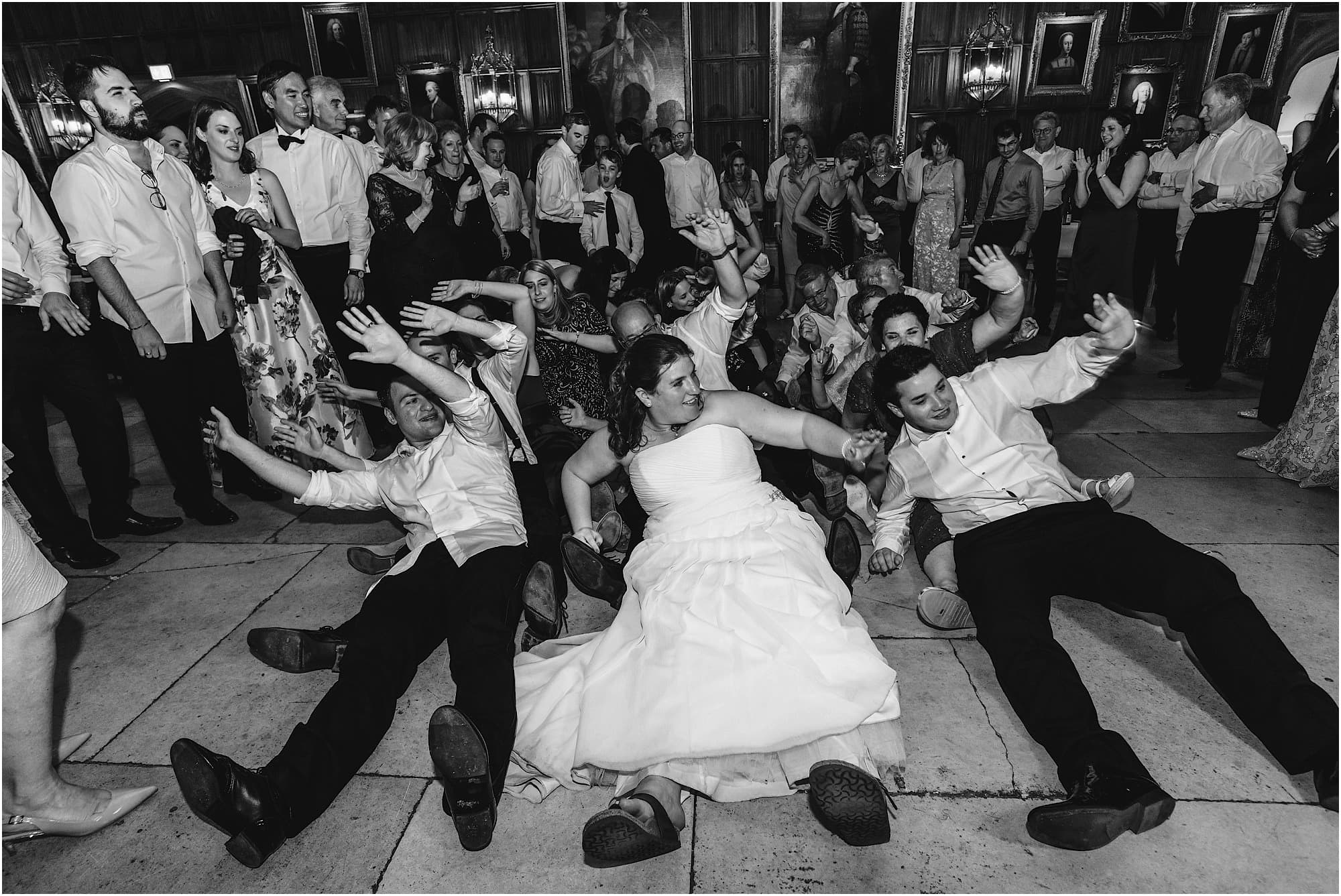 oops upside your head at wedding