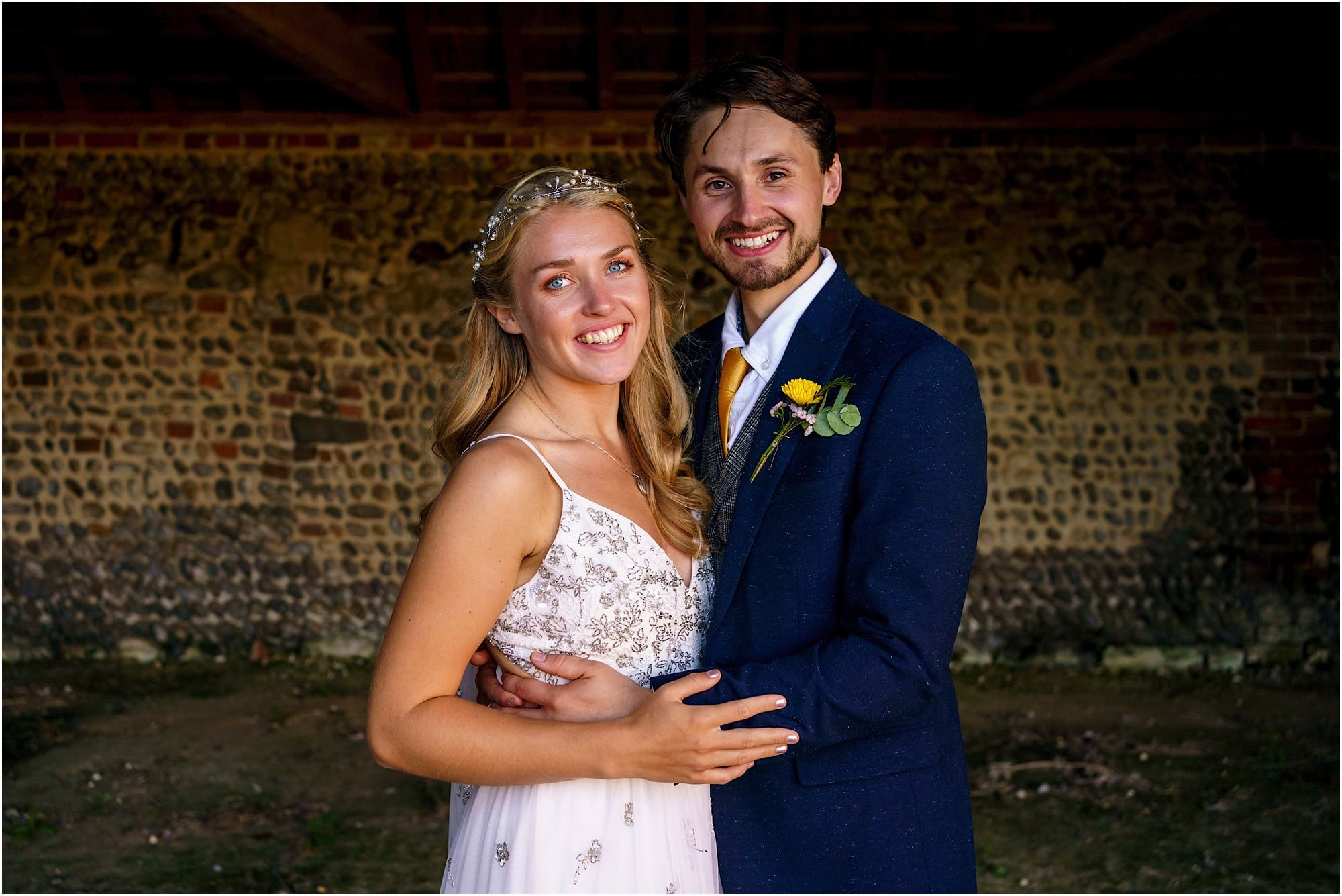bride and groom classic photo