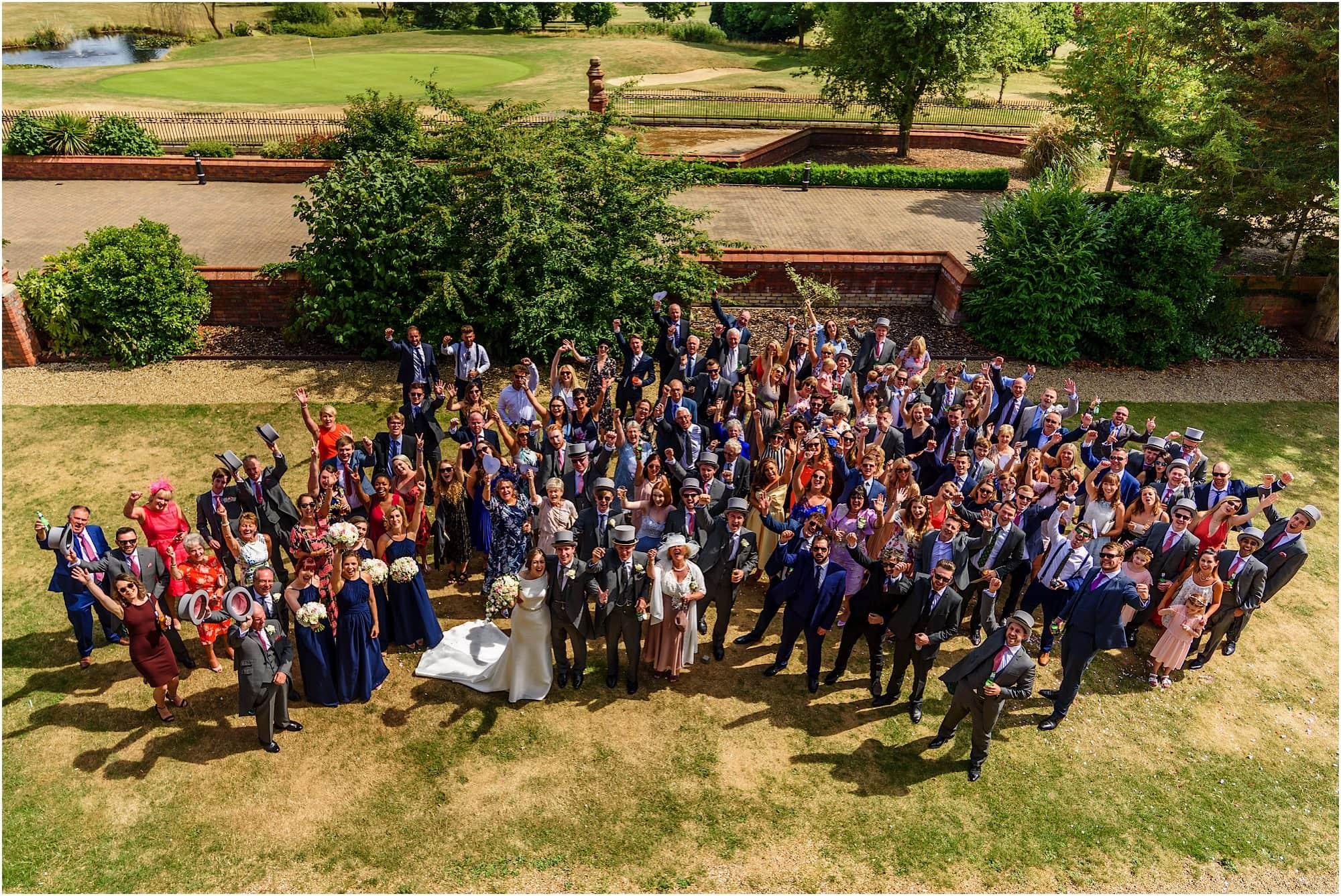 Large group shot at Dunston