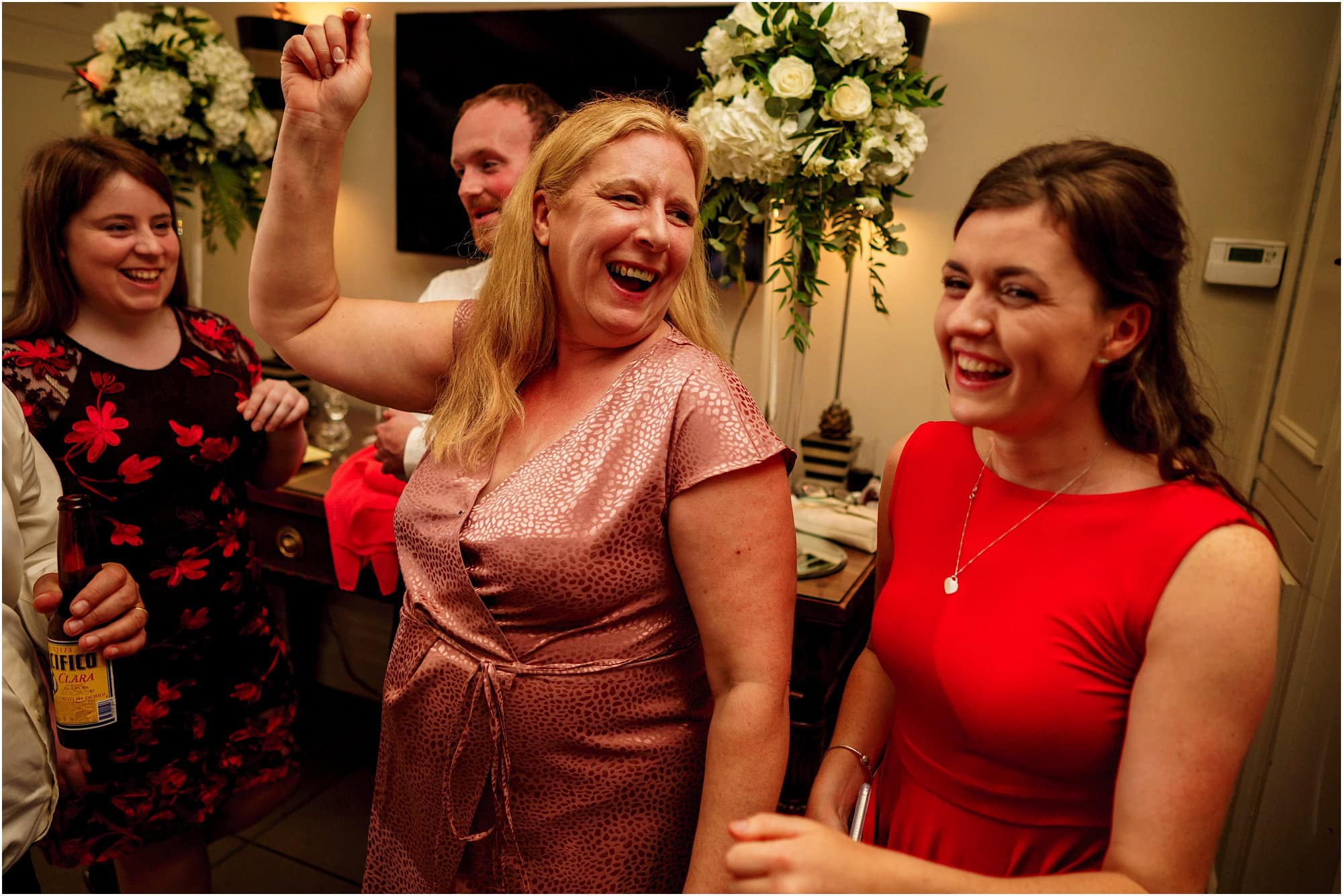 happy mum on the dancefloor