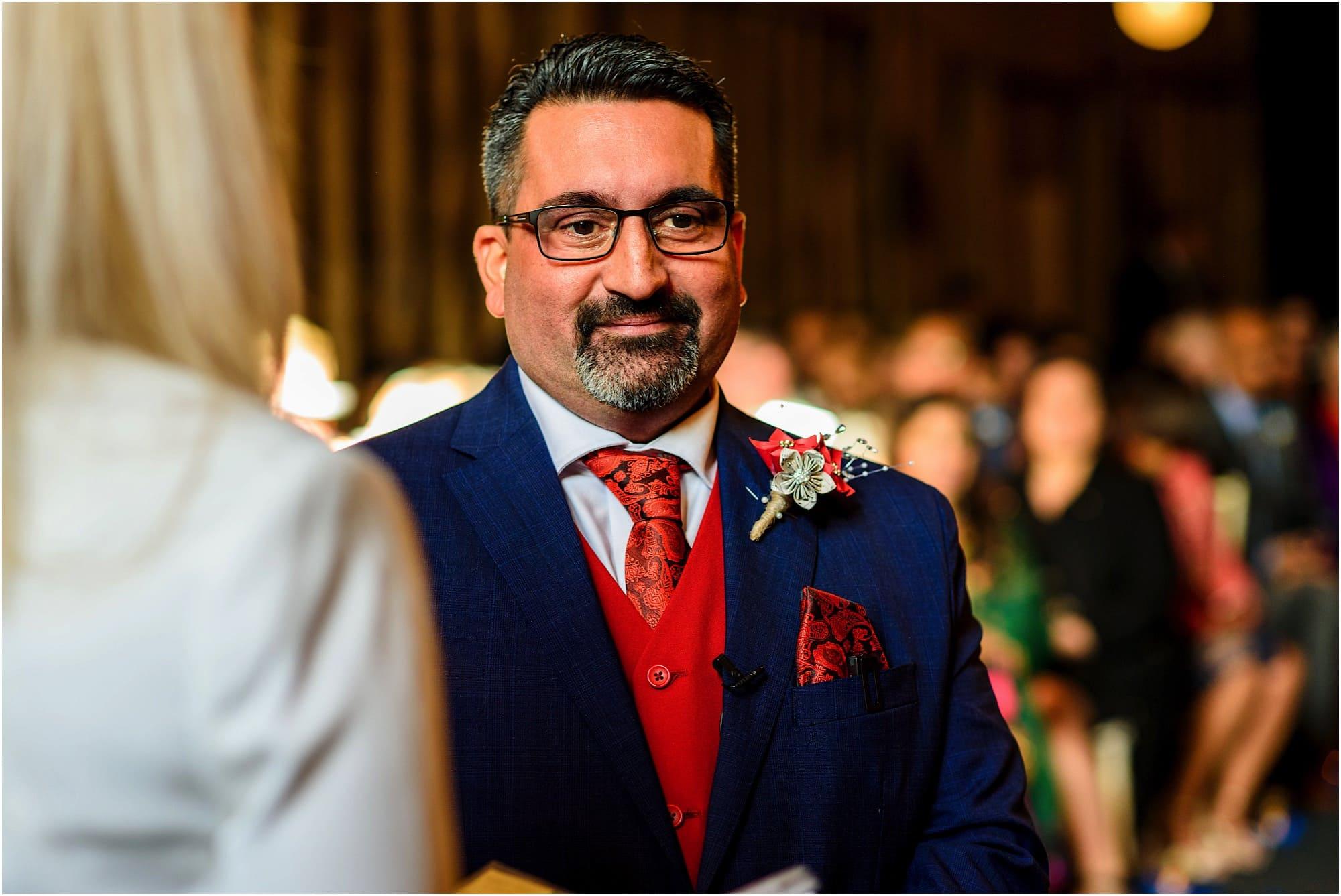 Anxious groom