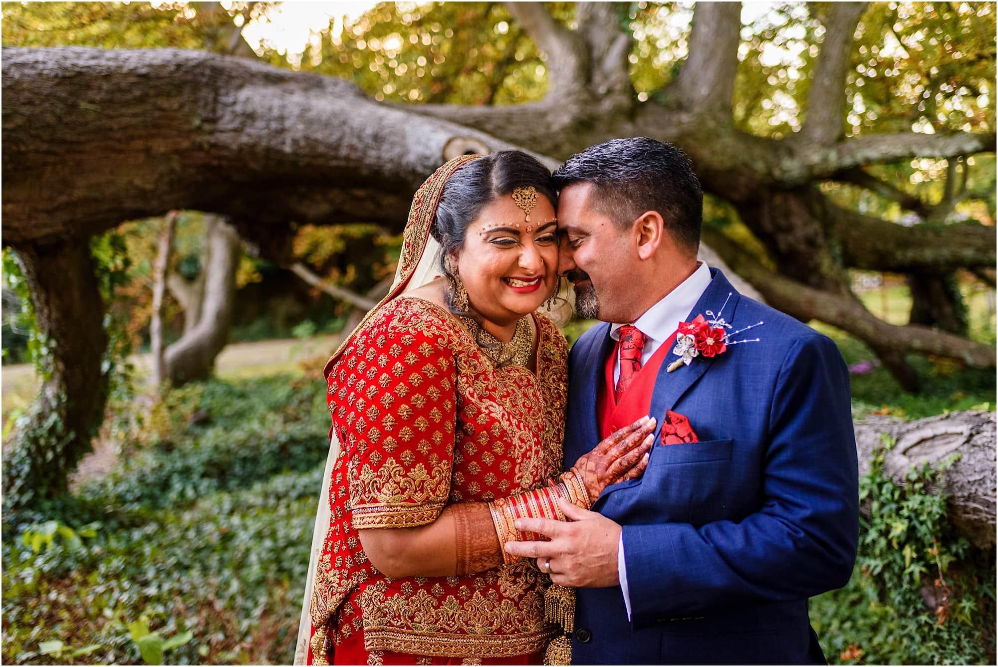Childerley Hall Asian Wedding Photo