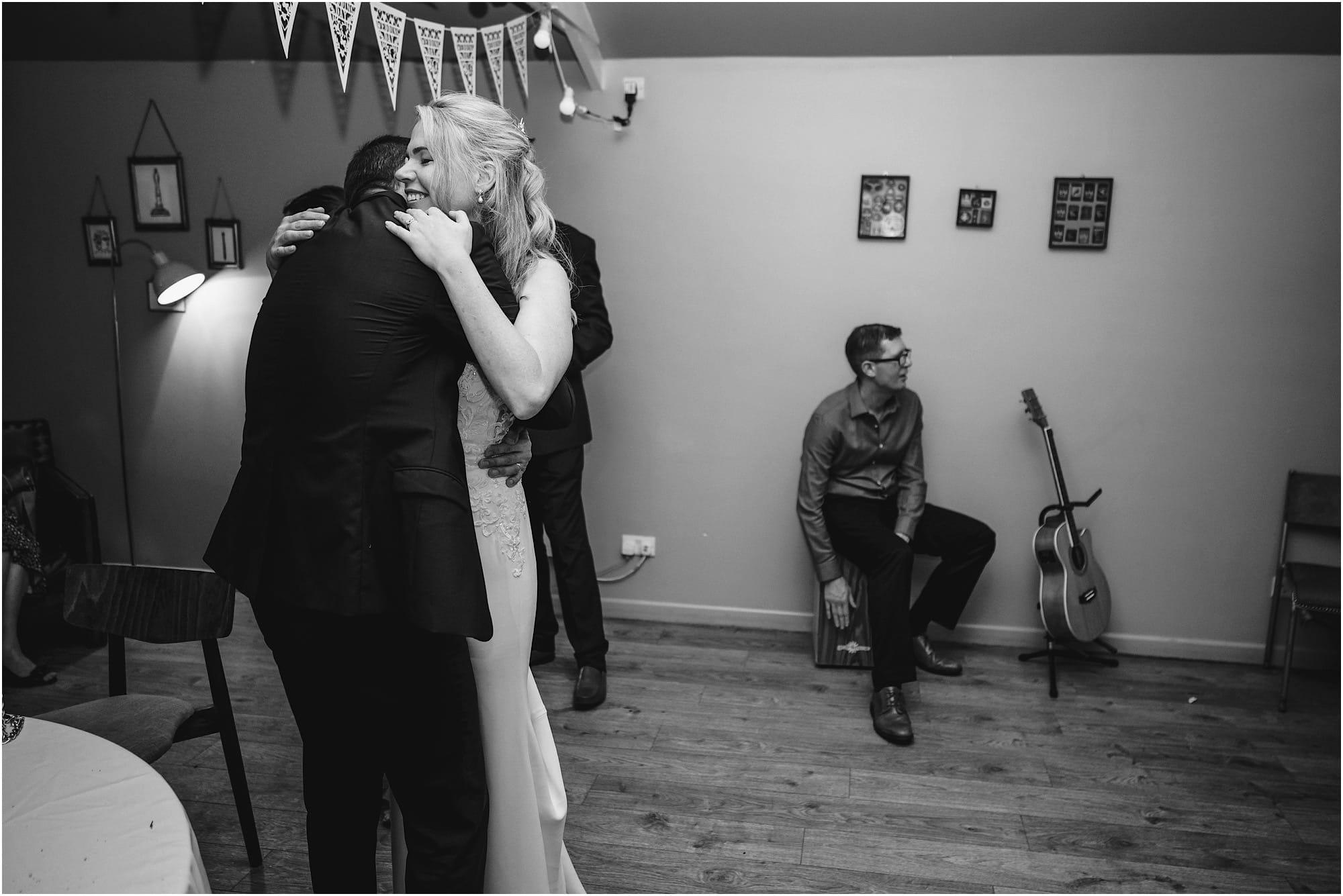 The Georgian Townhouse wedding reception final dance